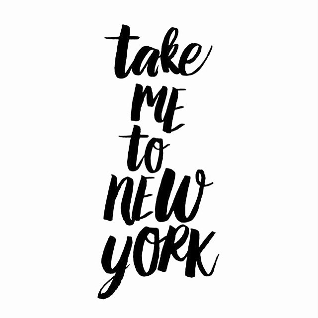 Take me to New York